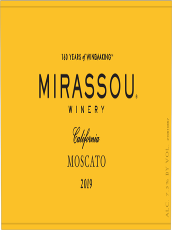 Mirassou Winery Moscato V19 750ML image number 5