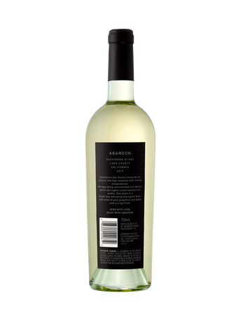 Abandon Sauvignon Blanc V19 750ML image number 2