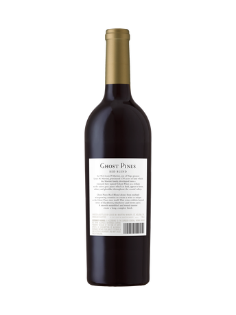 Ghost Pines Red Blend V17 750ML image number 2