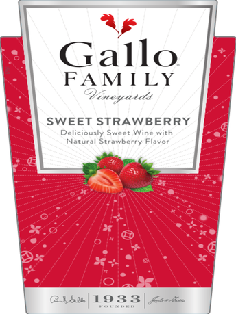 Gallo Family Vineyards Sweet Strawberry  750ML image number 2