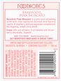 Barefoot Cellars Pink Moscato  750ML image number 3