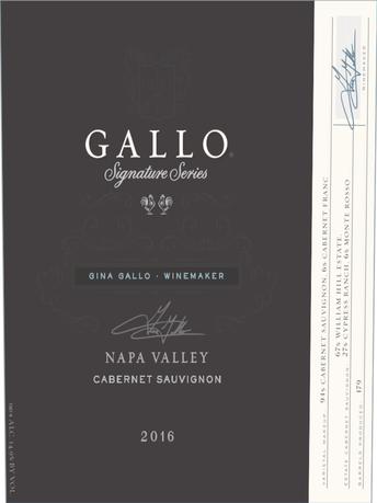 Gallo Signature Series Cabernet Sauvignon V16 750ML image number 4