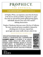 Prophecy Chardonnay V18 750ML image number 4
