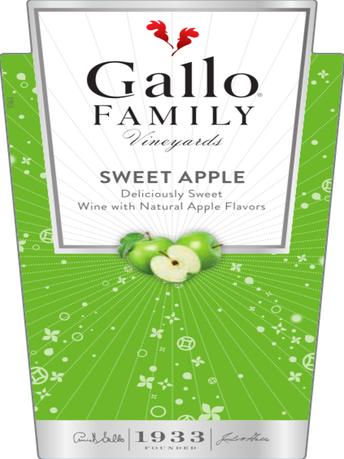 Gallo Family Vineyards Sweet Apple  750ML image number 5