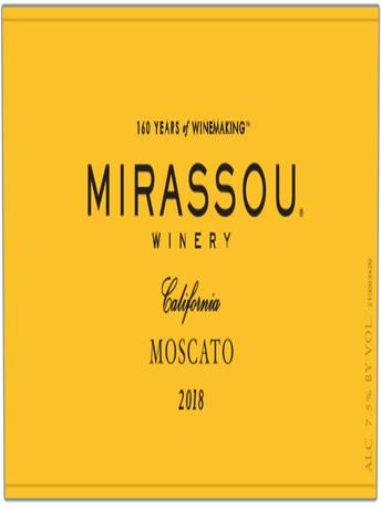 Mirassou Winery Moscato V18 750ML image number 5