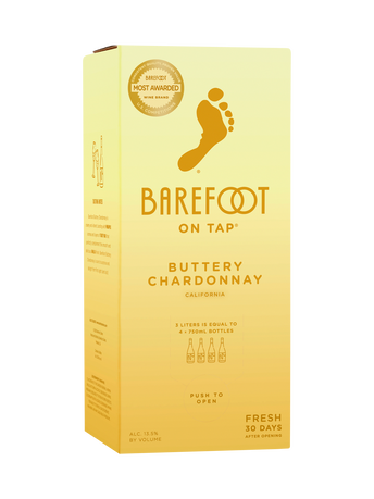 Barefoot Buttery Chardonnay 3.0L image number 1