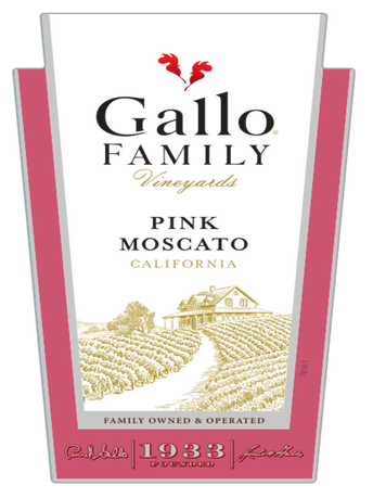 Gallo Family Vineyards Pink Moscato  750ML image number 2
