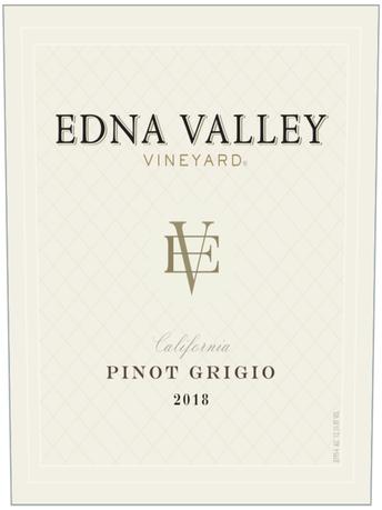 Edna Valley Vineyard Pinot Grigio V18 750ML image number 2