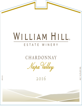 William Hill Estate Winery Chardonnay V17 750ML image number 2