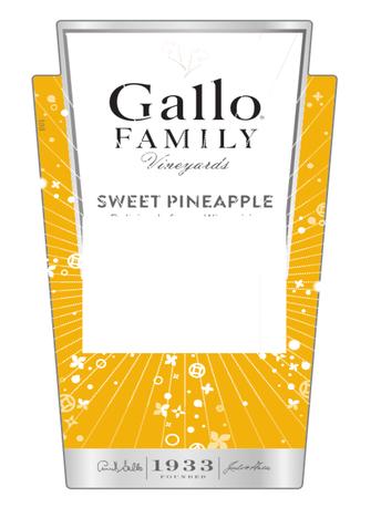 Gallo Family Vineyards Sweet Pineapple  750ML image number 2