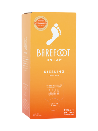 Barefoot Riesling  3.0L image number 1