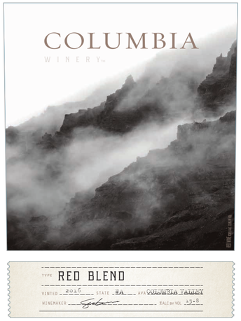 Columbia Winery Red Blend V16 750ML image number 2