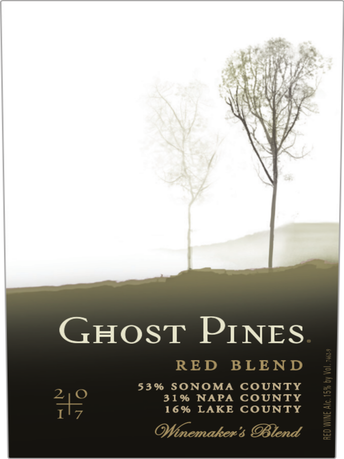 Ghost Pines Red Blend V17 750ML image number 3