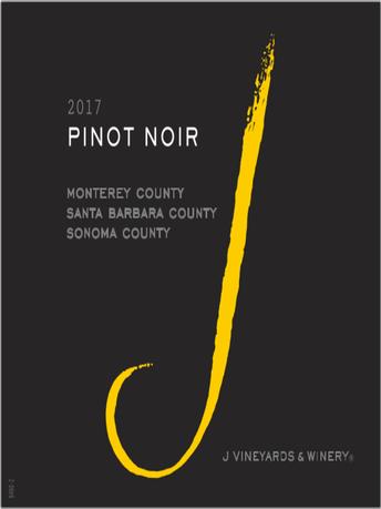 J Pinot Noir V17 750ML image number 2