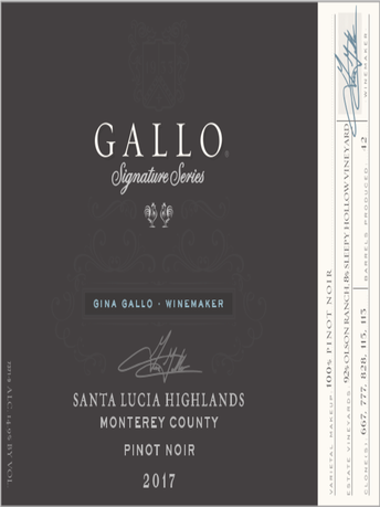 Gallo Signature Series Pinot Noir V17 750ML image number 2