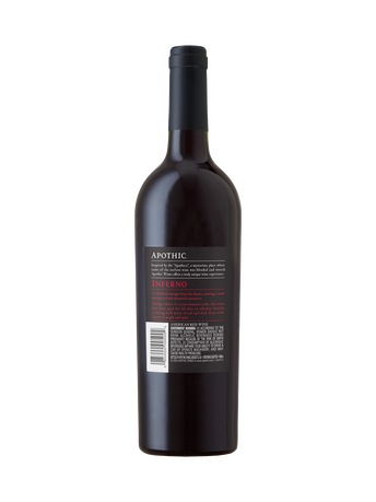 Apothic Inferno V18 750ml image number 2