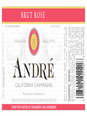 Andre Brut Rose  750ML image number 2