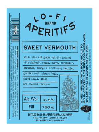 Lo-Fi Aperitifs Sweet Vermouth  750ML image number 2