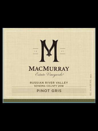MacMurray Estate Vineyards Pinot Gris V18 750ML image number 3