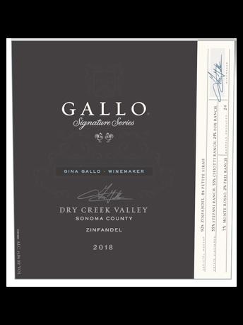 Gallo Signature Series Zinfandel V18 750ML image number 3