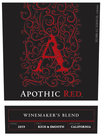 Apothic Red V19 750ML image number 3