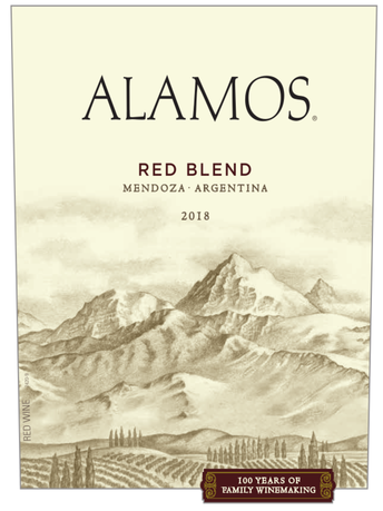 Alamos Red Blend V18 750ML image number 2