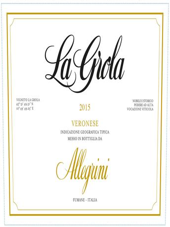 Allegrini La Grola Veneto IGT V15 750ML image number 3