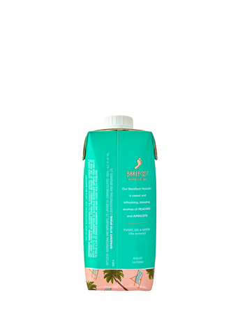 Barefoot Moscato  500ML image number 2